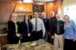 DreamMaker® Bath and Kitchen President Doug Dwyer poses with the team at DreamMaker® Bath and Kitchen of Grand Rapids, MI.
