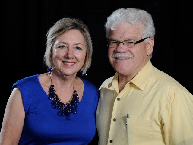 DreamMaker remodeling franchise owners Jayne and Bill Wolf.