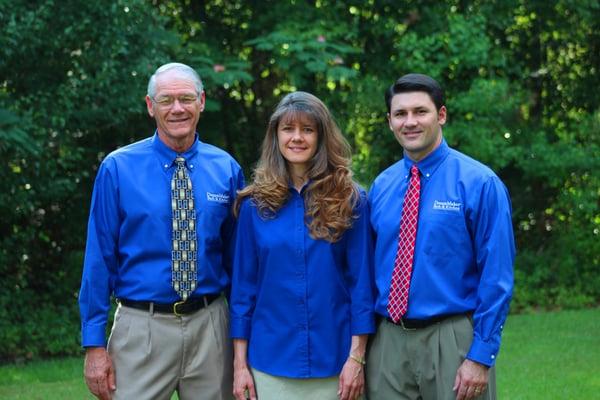 David, Leesa and Eric Anderson of DreamMaker of East Georgia.