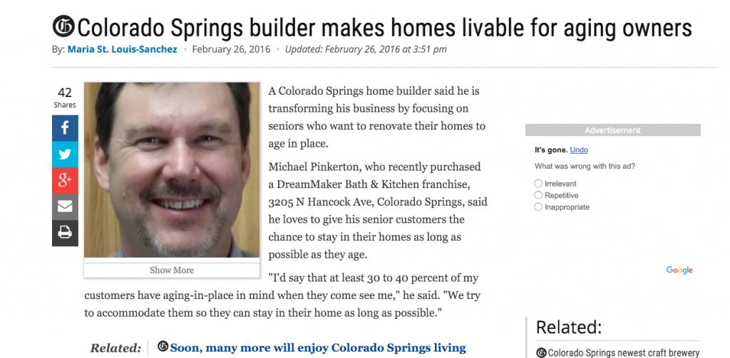 DreamMaker Colorado Springs builder