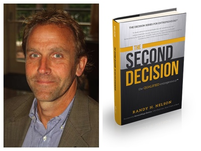 Randy Nelson and his Second Decision book