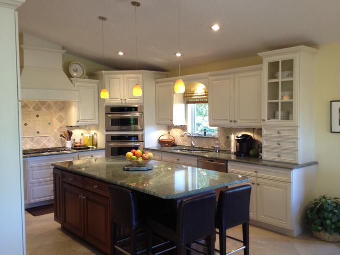 A gorgeous kitchen designed by the team at DreamMaker Bath & Kitchen of Stuart.