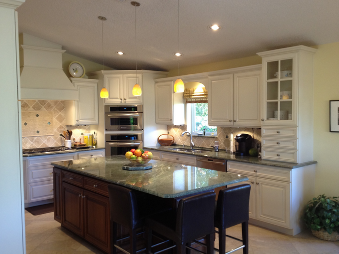 A gorgeous kitchen designed by the team at DreamMaker Bath & Kitchen of Stuart.