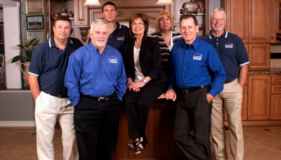 The team at DreamMaker of Bakersfield, which was recently named to Remodeling magazine's Big50 remodelers list.