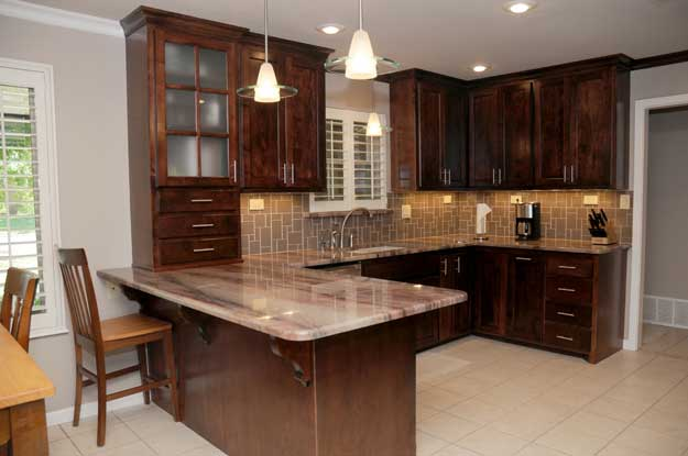One of the many kitchens remodeled by Steve Betts' DreamMaker franchise. You can see more at www.dreammakerlubbock.com.